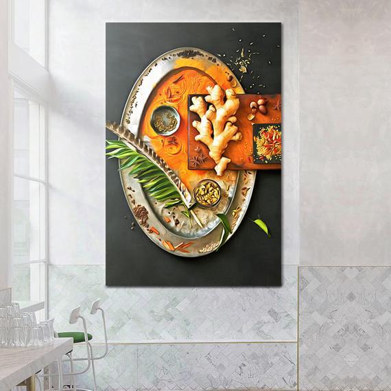 HomeShopFood Zone Spices Canvas ...